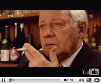 YouTube - Helmut Schmidt