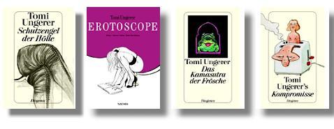 Tomi Ungerer - erotische Bücher