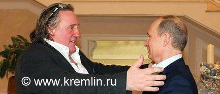 Putin-Depardieu