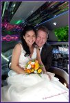 Claudia & Marco in der Stretch-Limousine
