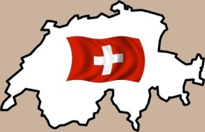 KarteSchweizFlagge