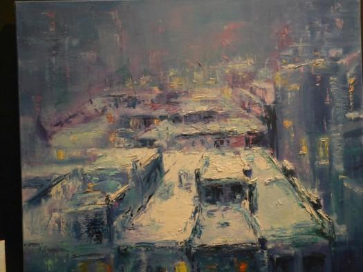 Impressionistische Gemälde.