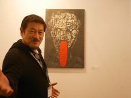 Sogar aus Japan waren Künstler vor Ort.