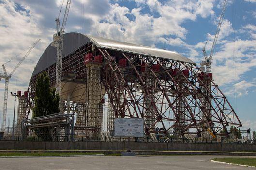 "Tschernobyl ""Neuer Sarkophag"" © Arne Müseler / arne-mueseler.de / CC-BY-SA-3.0"
