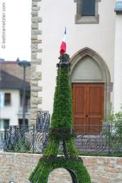 """Der Eiffelturm """"en miniature"""" in Waldighoffen"""