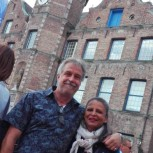 ... mit Uwe und Bernadette.