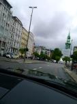 Ankunft in Hamburg